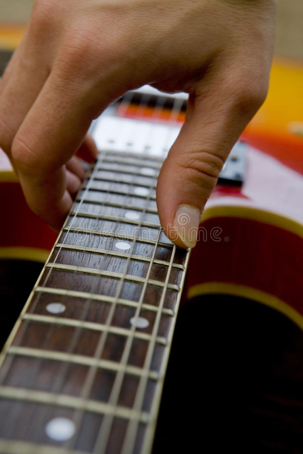 Free Playing Guitar Close-up Royalty Free Stock Photo - 11790625