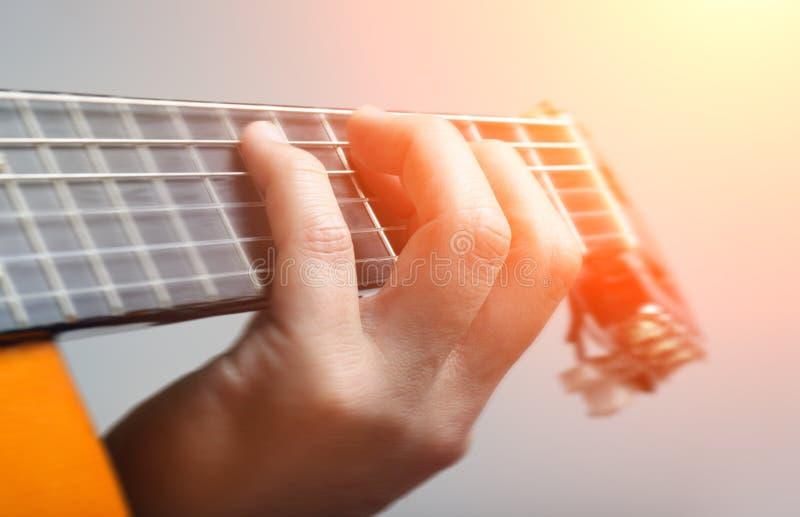 Download Playing guitar stock image. Image of recording, guitar - 43480431