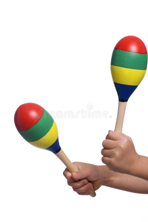 Download Playing Maracas 2 Royalty Free Stock Image - Image: 1706526