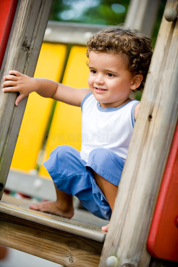 Download Playing At Park stock image. Image of park, smiling, active - 5010119