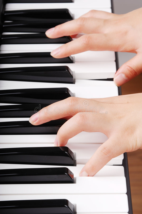 Download Playing piano stock image. Image of button, education - 8110415