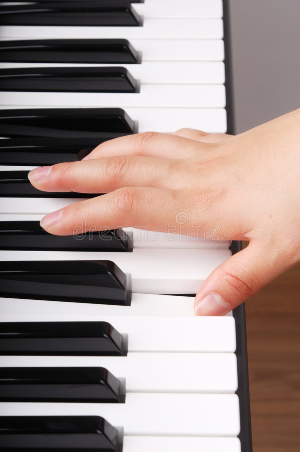 Download Playing piano stock photo. Image of chord, instrument - 8110418
