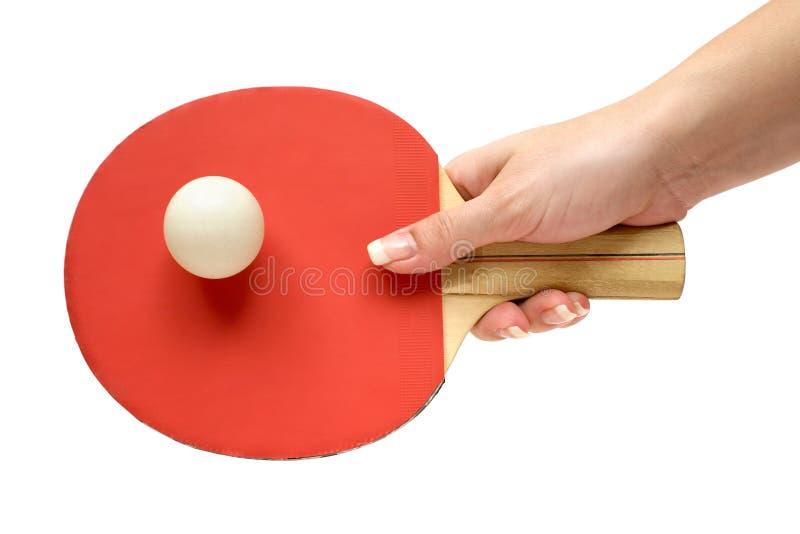 Playing Ping-Pong stock photos