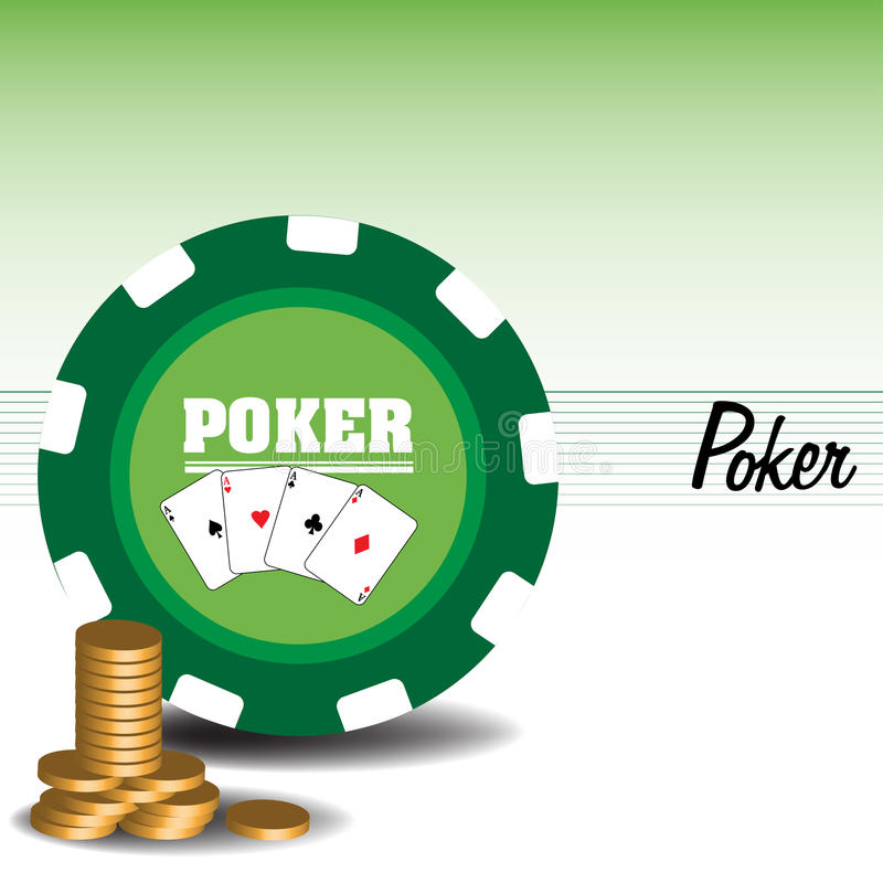 Download Playing poker stock vector. Illustration of hazard, aces - 13557491