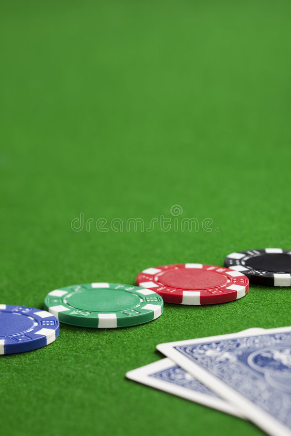 Playing poker stock images