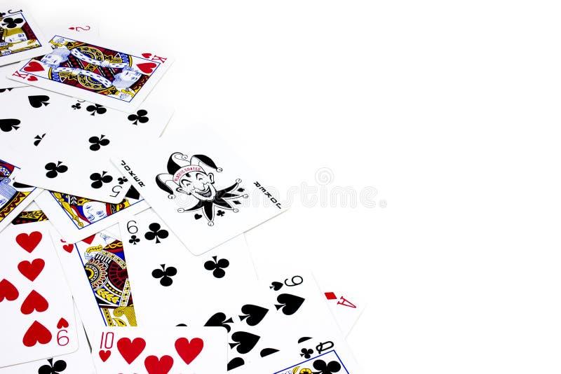 Playing Poker Cards stock photos