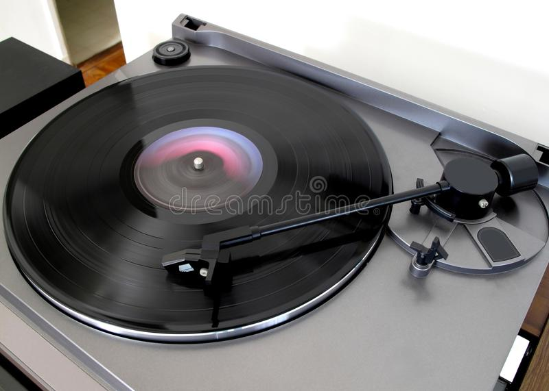 Download Playing a Record stock photo. Image of record, vinyl - 21027548