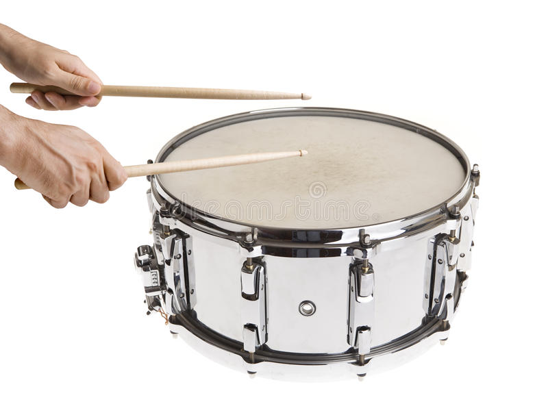 Download Playing Snare Drums stock image. Image of male, music - 12420089