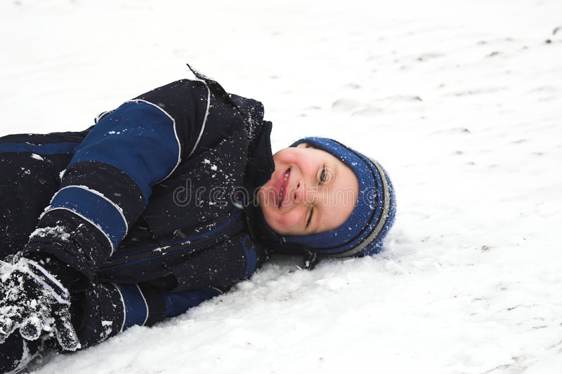 Download Playing in the snow stock photo. Image of happiness, season - 473890