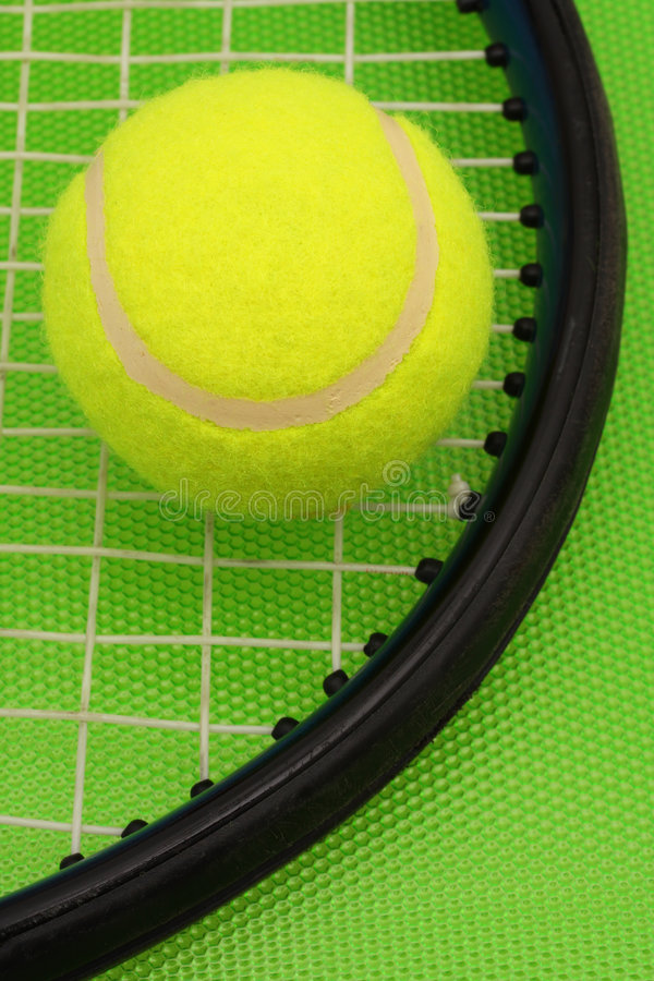 Playing Tennis stock photography