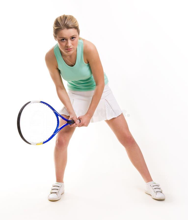 Download Playing tennis stock image. Image of fashion, girl, energetic - 6996505