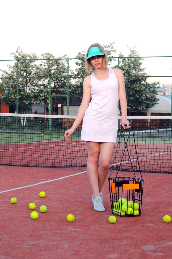 Download Playing Tennis stock image. Image of latinamerican, female - 33570263