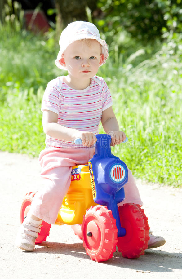 Playing toddler royalty free stock images