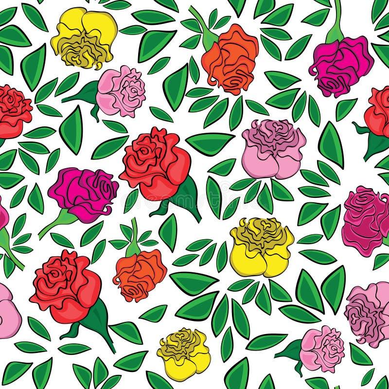 playnig света цветка предпосылки иллюстрация штока