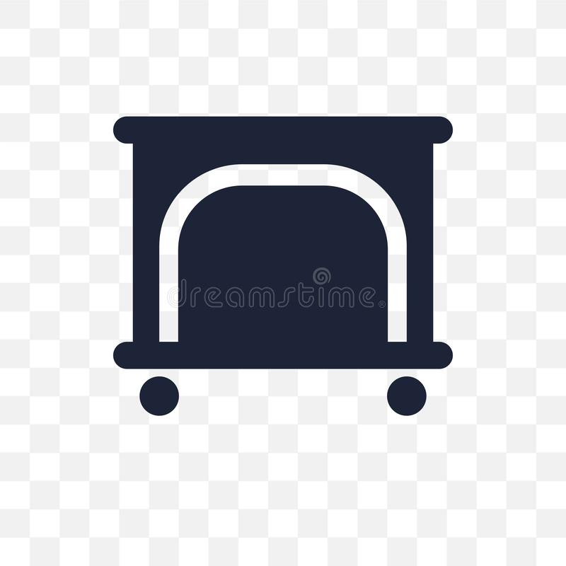 Playpen transparent icon. Playpen symbol design from People coll stock illustration