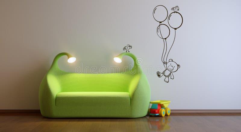 Playroom royalty illustrazione gratis