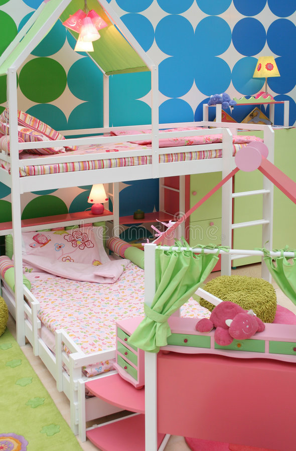 playroom royaltyfri foto