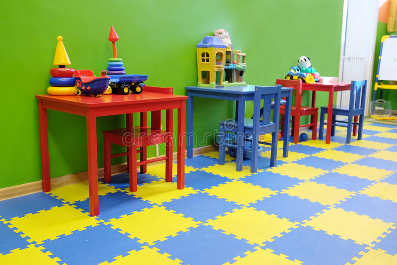 playroom stockbild