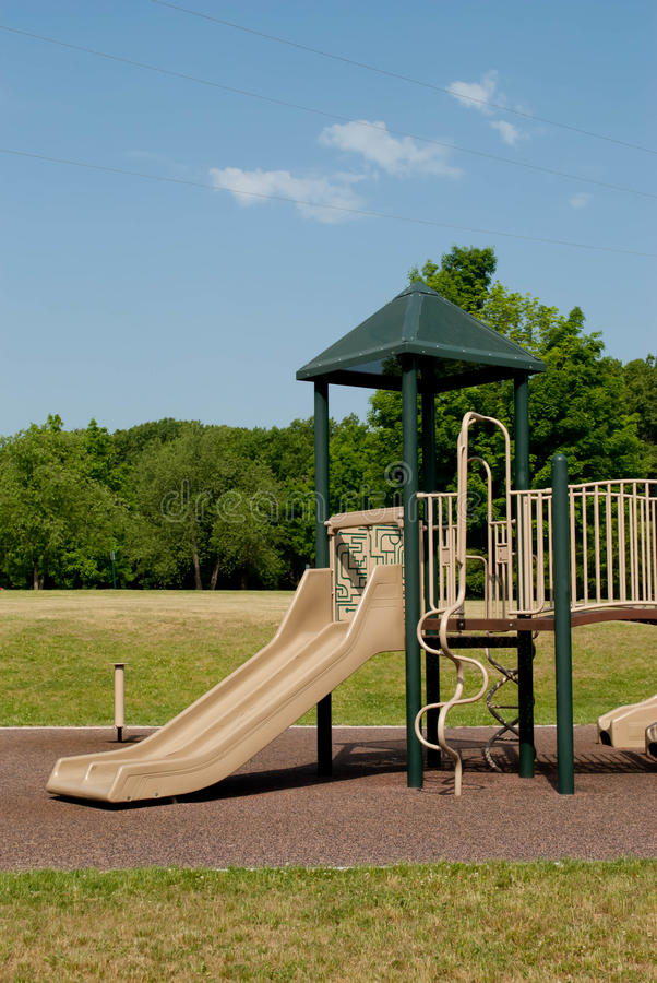 Download Playscape stock image. Image of grass, nature, playground - 25019815