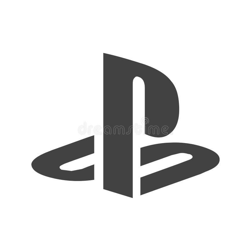 Playstation royaltyfri illustrationer
