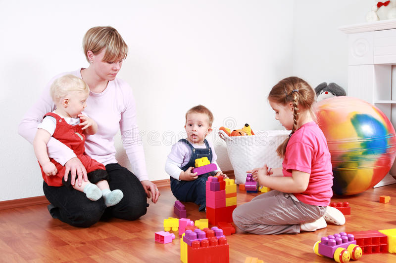 Playtime stock images