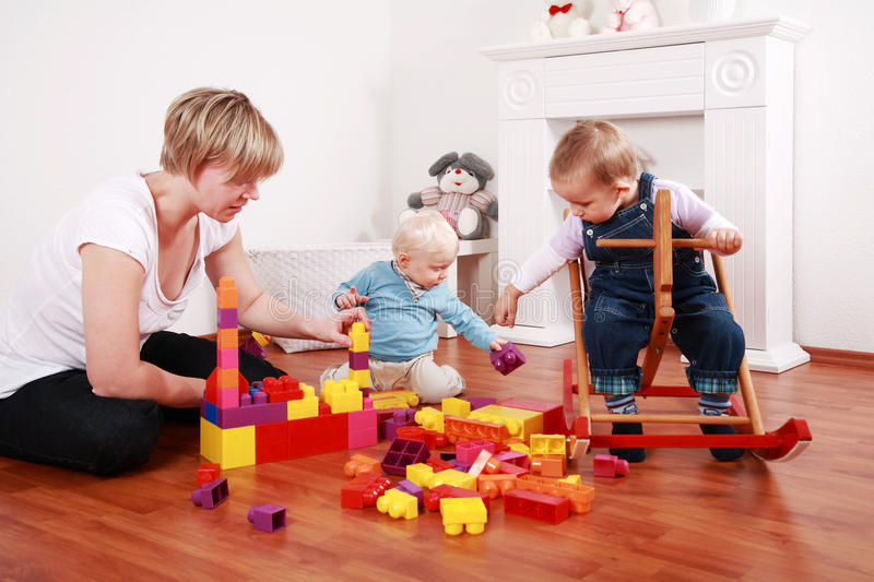 Playtime stock photography