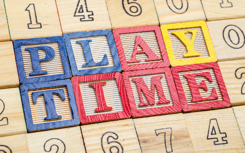 Download Playtime stock photo. Image of numbers, banner, text - 24535200