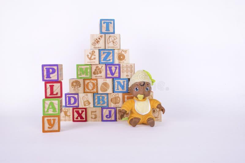 Playtime bloki obrazy stock