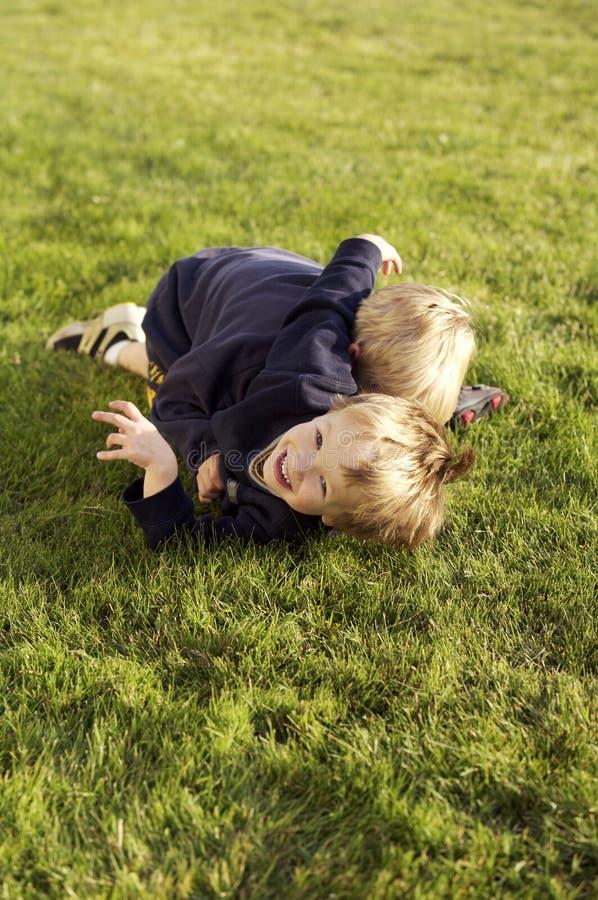 Playtime per i ragazzi fotografia stock libera da diritti