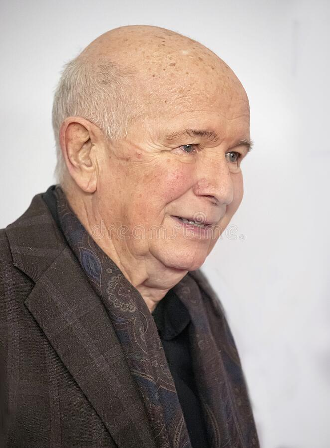 Terrence McNally at the 2019 Meet the Nominees Press Junket royalty free stock photography