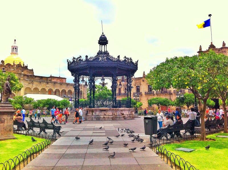 plaza image libre de droits