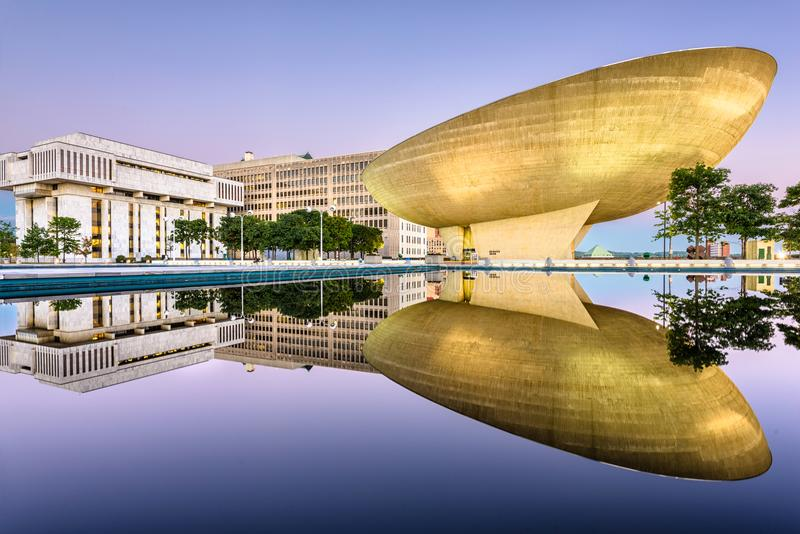 Plaza Albany New York d'empire images stock