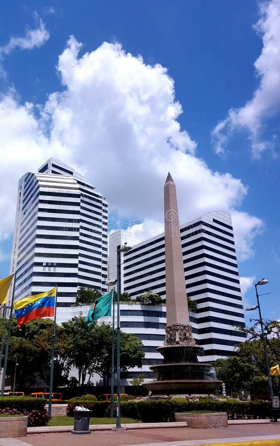 Plaza Altamira Καράκας Βενεζουέλα στοκ φωτογραφία με δικαίωμα ελεύθερης χρήσης