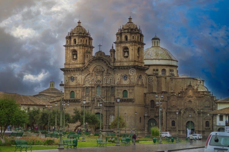 Plaza of Armas à Cuzco photo libre de droits