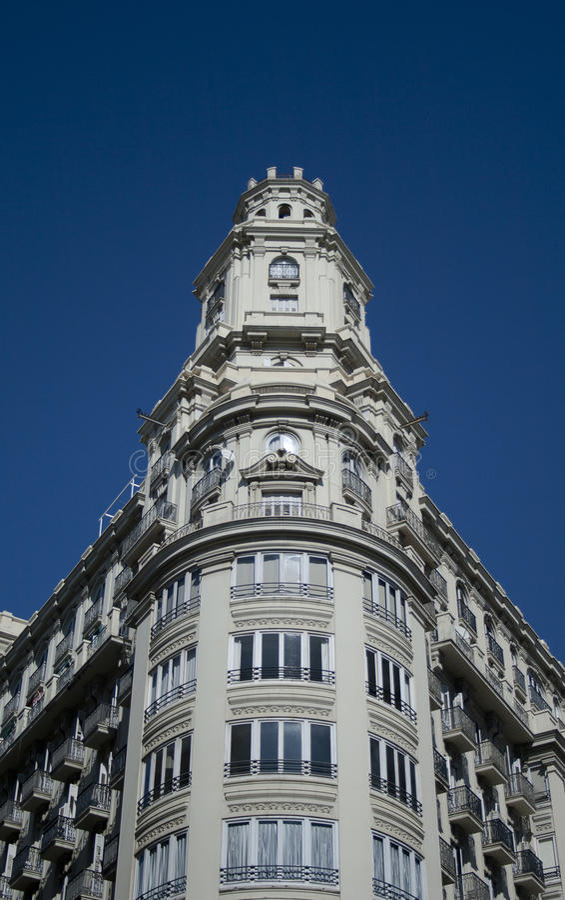 Plaza Ayuntamiento royalty free stock images