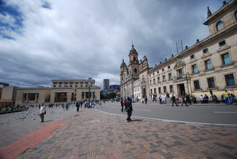 Plaza Bolivar - Bogotá foto de stock