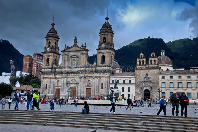 Plaza Bolivar - Bogota royalty free stock photos