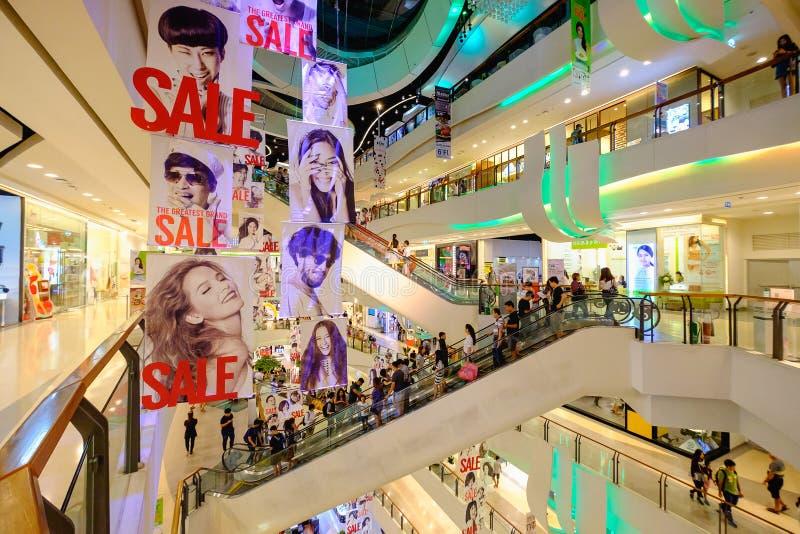 Plaza central Rama 9 fotos de stock royalty free