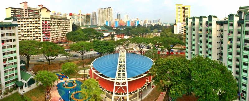 Plaza coberta, Toa Payoh, Singapura fotos de stock