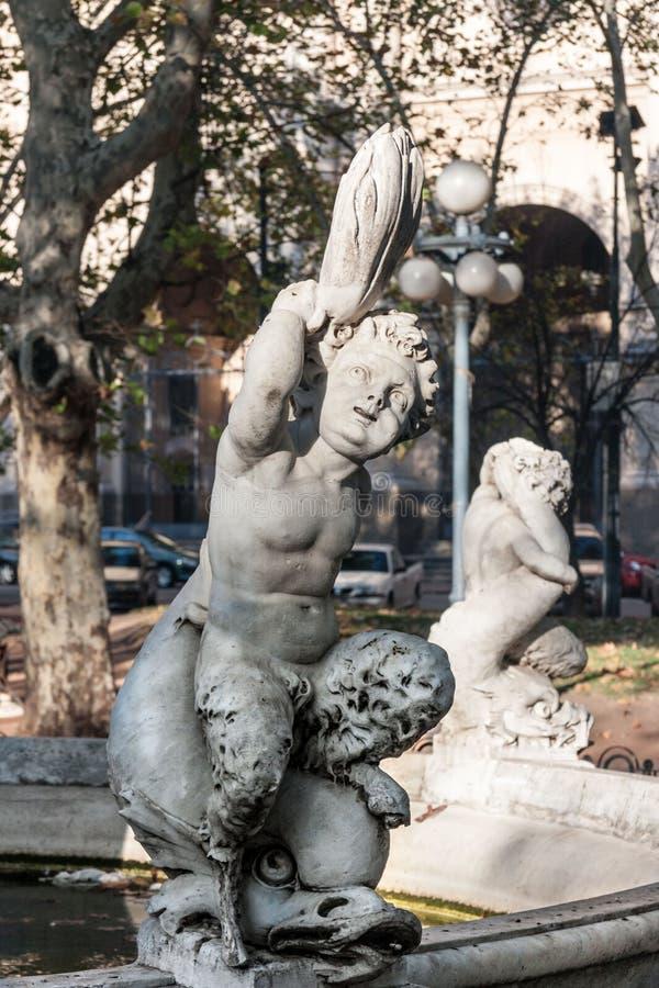 Plaza Constitución de Montevideo image stock