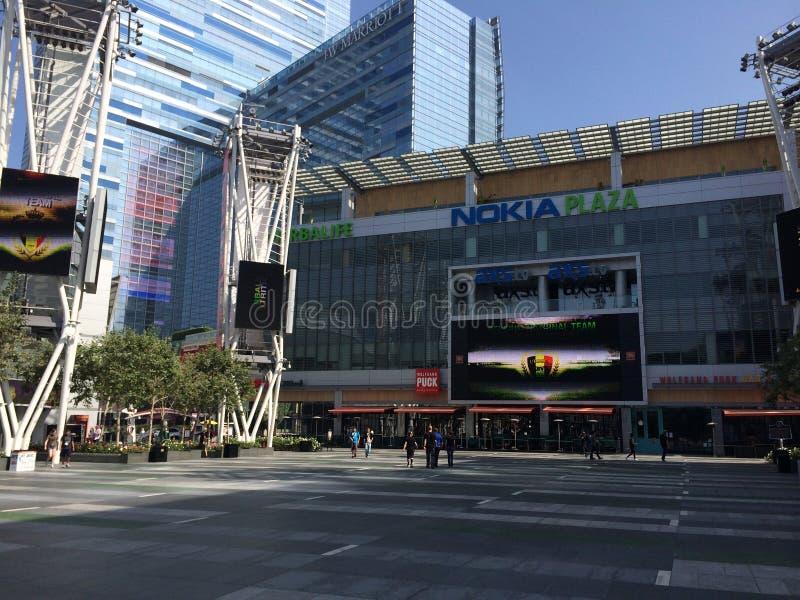 Plaza coréenne de Nokia de centre d'affaires photos stock
