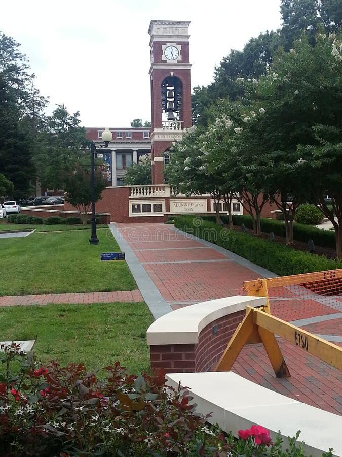 Plaza d'anciennes élèves image libre de droits
