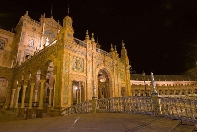Plaza D'Espagna - cena da noite fotos de stock royalty free