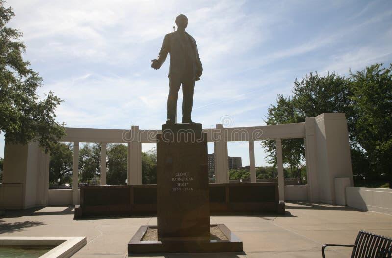 Plaza Dallas de Dealey, Texas imagens de stock royalty free