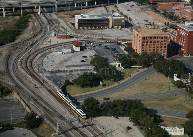 Plaza Dallas Tejas de Dealey fotos de archivo libres de regalías