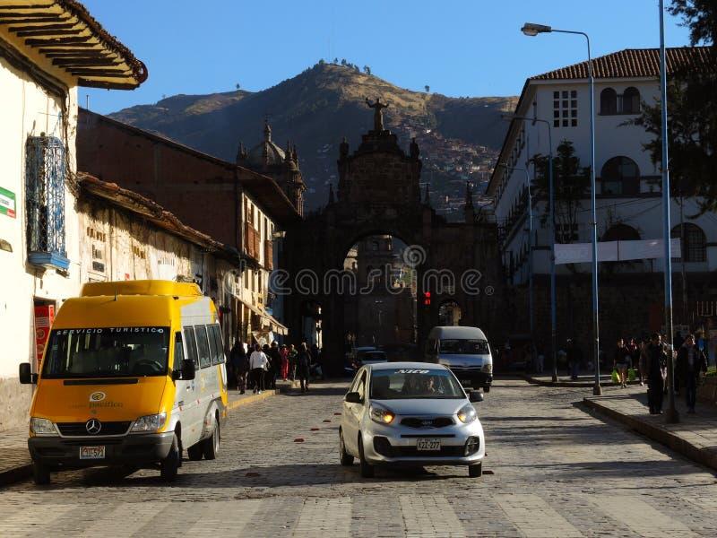 Download Plaza dans Cusco, Pérou photographie éditorial. Image du église - 77153462
