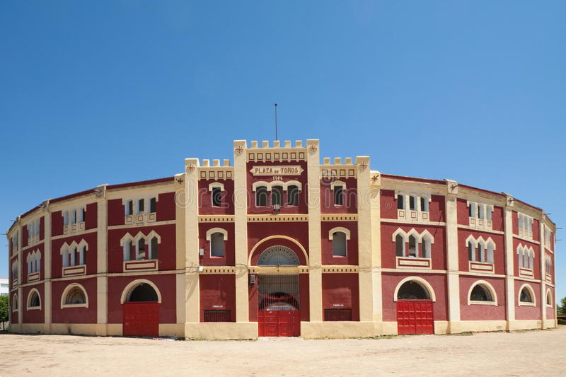 Plaza de梅里达Toros  图库摄影