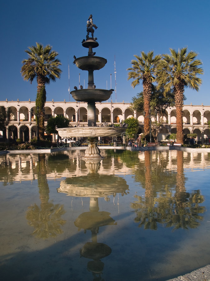 Download Plaza De Armas In Arequipa Stock Images - Image: 3745444