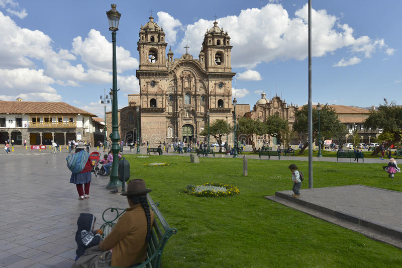 Plaza de Armas, Cuzco, Pérou photos stock