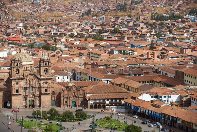 Plaza de Armas dans Cusco photographie stock libre de droits